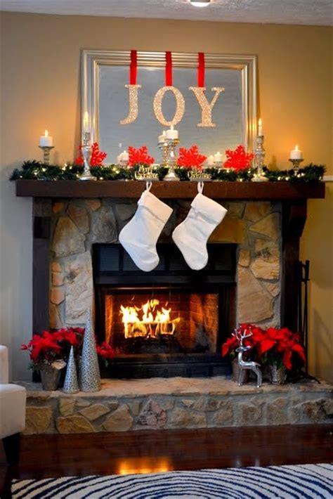 amazing diy fireplace mantel christmas makeovers