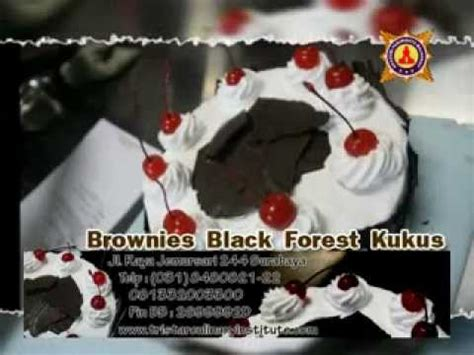 Haan Brownies Kukus clip hay pembuatan brownies black forest kukus