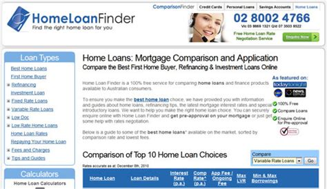 home loan finder review aussie reviews