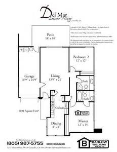 Leisure Village Floor Plans by Leisure Village Camarillo Floor Plans
