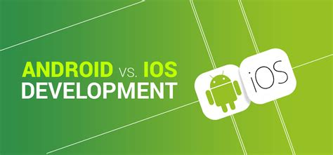 Android And Ios Development android vs ios development where s the money