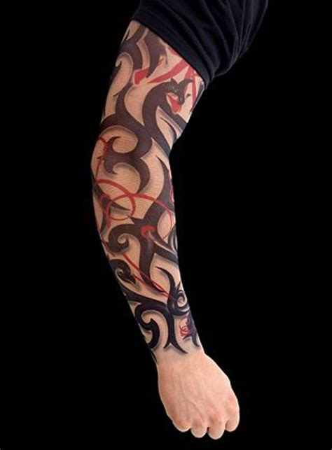 tribal flame sleeve tattoo tattoos for sleeves pictures great tattoos