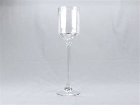 Wine Glass Vase by 18 Quot 4 Quot Opening Clear Wine Glass Cylinder Vase Flower