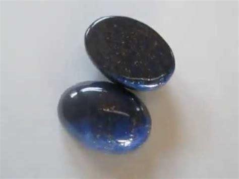 Batu Lapiz Lazuli Hq 1 batu mulia lapiz lazuli 2 pcs biru pekat 15 carat