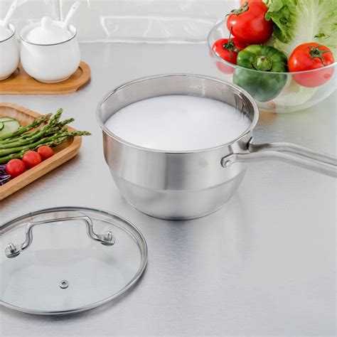 Milk Pot With Steamer 18 Cm 18cm stainless steel steamer induction compatible steamer
