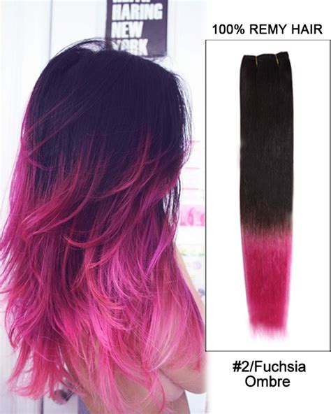 black people with purple hair save money with online coupon code 16 2 fuchsia ombre straight weave 100 remy hair weft