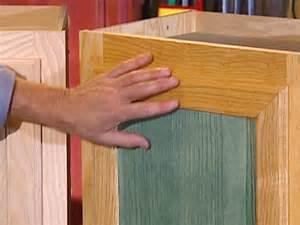 Kitchen Cabinet Wood Stains How To Stain Wood Cabinets How Tos Diy
