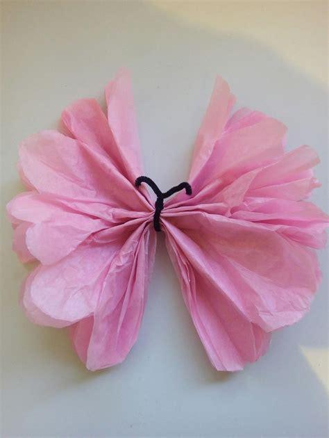 imagenes de mariposas hechas de papel mi fiesta creativa como hacer mariposas con papel de seda