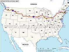 us map of interstate 90 interstate 40 from los angeles to oklahoma travel