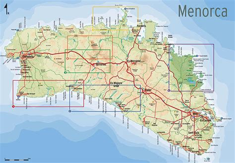 louisiana highway map pdf mapa de menorca descubrir menorca