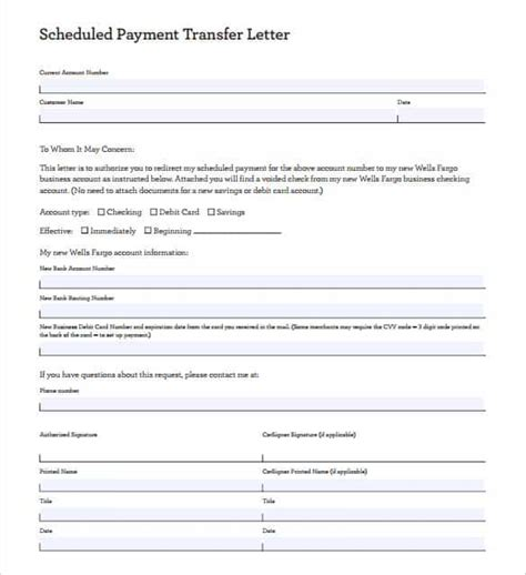 Simple Letter Agreement Nih 33 Transfer Letter Templates Free Sle Exle Format Free Premium Templates