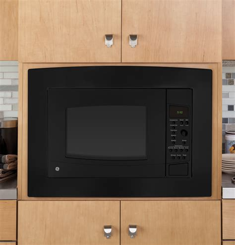 Ge Convection Microwave Countertop by Peb1590dmbb Ge Profile Series 1 5 Cu Ft Countertop