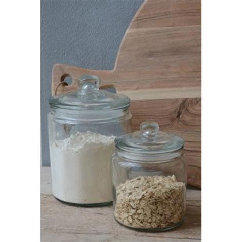 Decorative Glass Jars For Kitchen by Decorative Glass Jar With Lid For Cookie Sweet Kitchen