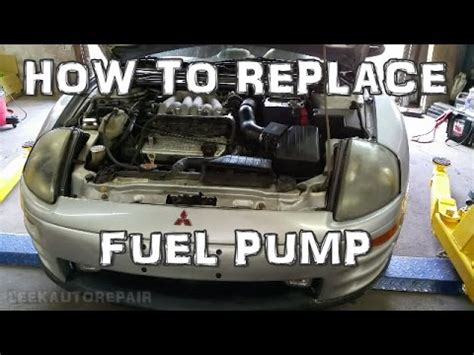 how to replace fuel 2000 2005 mitsubishi eclipse