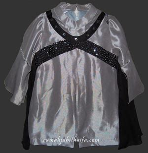 Kebaya Cavali Abu new order jahitan baju keluarga ibu yustin di singapore