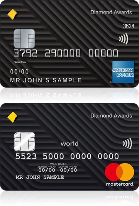 Mastercard Credit Card Template awards credit card commbank