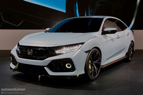 future honda civic 2017 honda civic hatchback previewed by concept in geneva