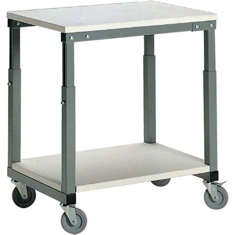 height adjustable bench height adjustable mobile bench mobile table