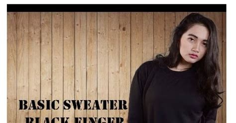 Jaket Quiksilver Black Sweater Pria Wanita Keren Murah basic sweater black finger jaket pria wanita grosir murah bandung guruh shop