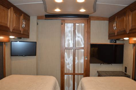 bedroom tv rv renovations by classic coach works