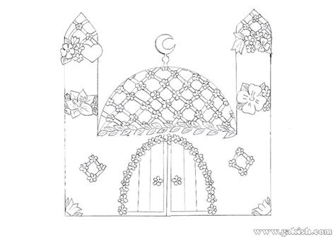 eid ul adha cards template math for coloring pages mosque islamic muslims sjpg