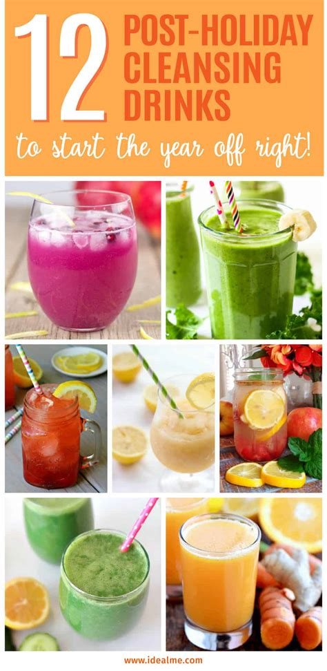 Drinks That Detox Your System by 12 Post Cleansing Drinks To Start The Year