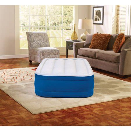 simmons twin beautyrest plush aire raised air bed mattress