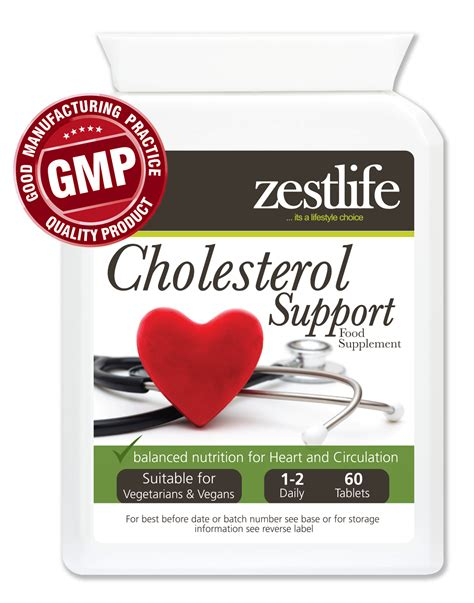 supplement lower cholesterol zestlife cholesterol lowering supplement support 60