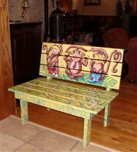 bench painting ideas 1000 images about bench ideas on pinterest painted