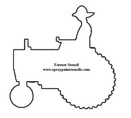 tractor template to print farm animal stencils printable images