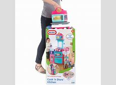 Amazon.com: Little Tikes Cook 'n Store Kitchen Playset ... Little Tikes Kitchen Playset