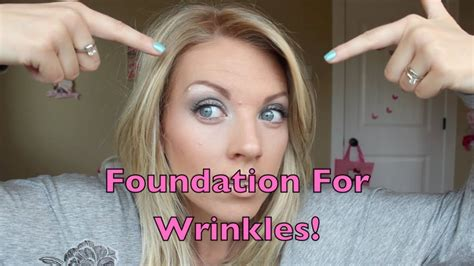 hair to hide forehead wrinkles foundation for wrinkles youtube