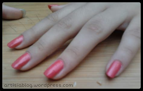 coral color nails coral pink nail artisia