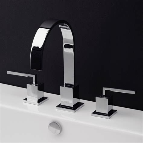 Contemporary Bathroom Fixtures Kubista Faucet 1403 Contemporary Bathroom Faucets And Showerheads By Lacava