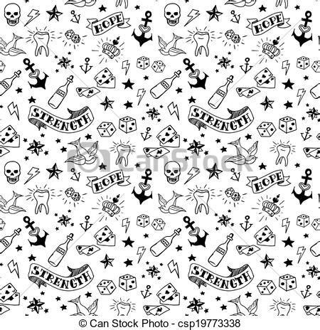 old tattoos pattern old tattoos elements