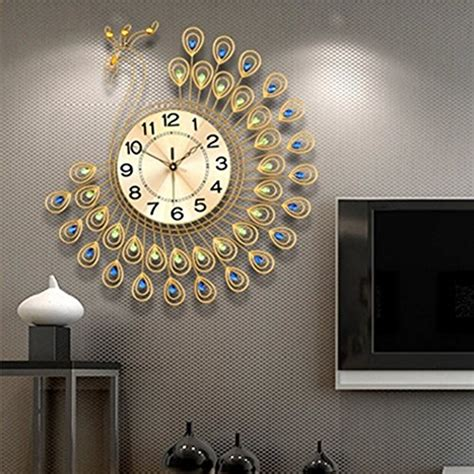 decorative wall clocks  living room amazoncom