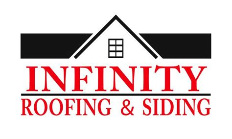 infinity roofing siding logo from infinity roofing and