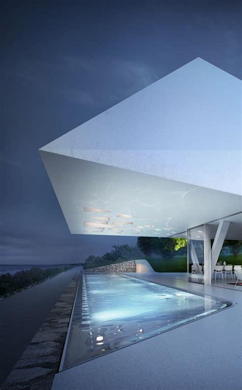 futuristic design villa f with impressive futuristic architecture digsdigs