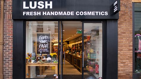 Handmade Cosmetics Uk - image gallery lush shop 1995