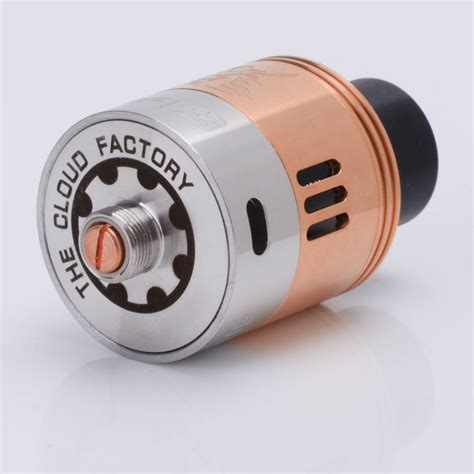 Rda Samurai V3 24mm samurai v3 style rda 24mm copper stainless steel