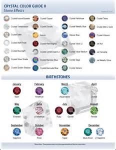 color stones 2009 swarovski color charts artbeads