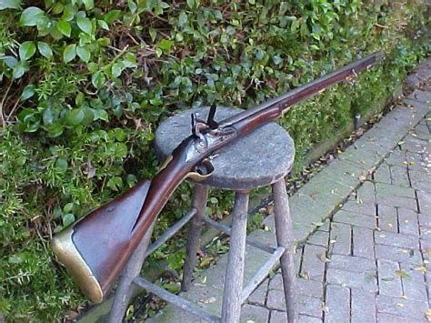 second pattern brown bess belgian liege contract of the british 1st model 1756