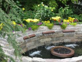 Water Feature Ideas For Small Backyards Backyard Patio With Water Feature Traditional Patio Minneapolis By Mike Porwoll
