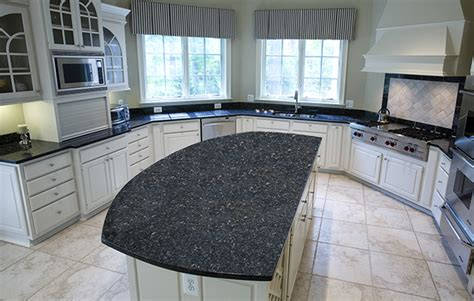 blue pearl granite kitchen countertops design ideas