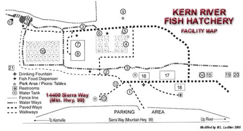 design of fishways and other fish facilities books kern river fish hatchery tour map