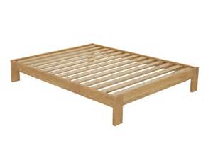 Simple Bed Frames Sydney California Custom Timber Bed Frame Without Headboard