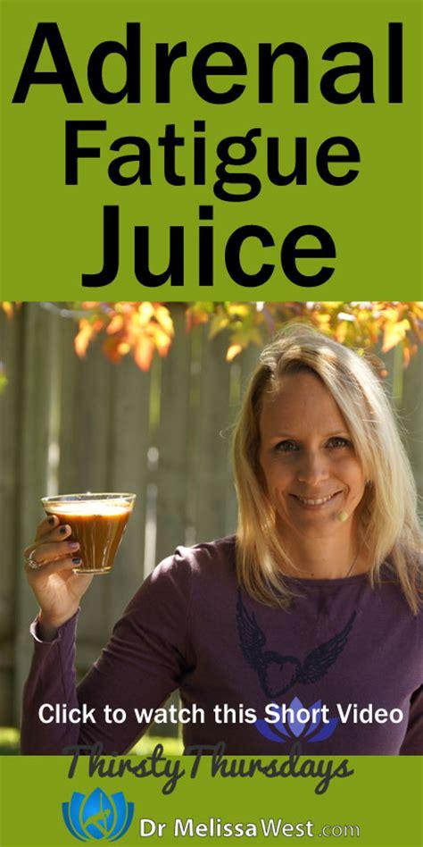Adrenal Detox Juice by A Juice For Adrenal Fatigue Help Your Adrenals Improve