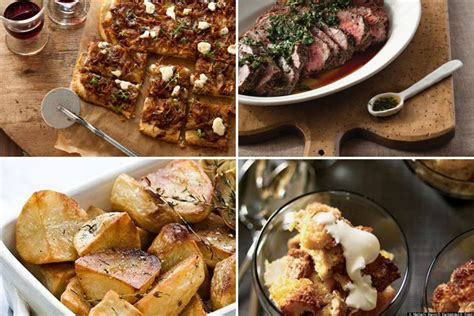dinner for adults dinner menus and recipes photos huffpost