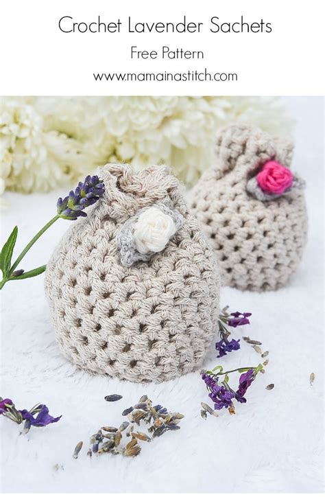 crochet lavender bags pattern free lovely lavender crochet sachets mama in a stitch