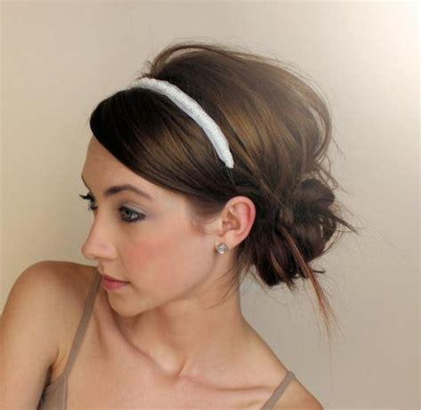updo hairstyles headband headband updo hair pinterest updo wedding and summer